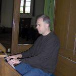 Dick Meijer - Een van de organisten van de Protestantse gemeente Halfweg-Zwanenburg