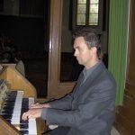 Arjen de Jong - Een van de organisten van de Protestantse gemeente Halfweg-Zwanenburg