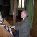 Hans Jütte - Een van de organisten van de Protestantse gemeente Halfweg-Zwanenburg